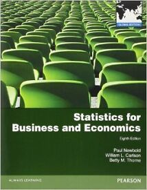 BRAND NEW Statistics for Business & Economics 8th Edition Paul Newbold