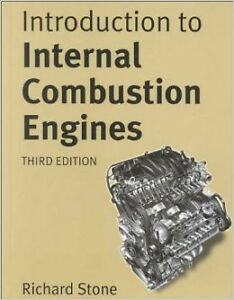 Introduction to Internal Combustion Engines ***Used - Like New**