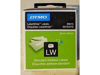 Genuine Dymo 99010 labels