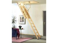 LOFT LADDERS SUPPLIED AND FITTED FROM £150