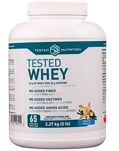 HERC'S Nutrition Brampton - Tested Nutrition WHEY PROTEIN 5lb