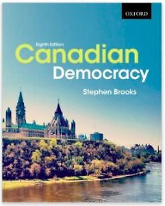 Political Science University Textbook: Canadian Democracy