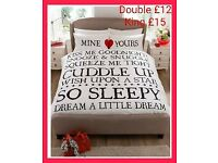 Fab Valentine's Gift - Mine and Yours Duvet Set