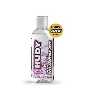 Hudy 106561 - Ultimate Silicone Oil, 60000 cSt, 100ML Bottle, RC Maintenance