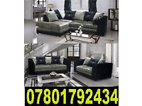 BANK HOLIDAY SALE SOFA NEW CRUSH - VELVET 3 AND 2 CORNER SOFAS 6
