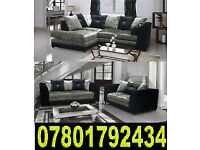 BANK HOLIDAY SALE SOFA NEW CRUSH - VELVET 3 AND 2 CORNER SOFAS 31628