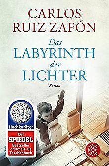 Das Labyrinth der Lichter: Roman von Ruiz Zafón, Carlos | Buch | Zustand gut