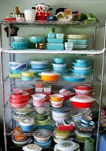ISO old bowls, casserole and kitchen dishes-Pyrex, Fireking etc
