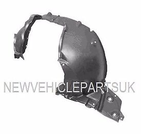 NISSAN NOTE 2006-2013 FRONT WING ARCH LINER SPLASH GUARD PASSENGER SIDE COMPLETE FREE DELIVERY