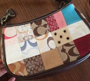 Multi-Coloured Patchwork Demi Handbag Sarnia Sarnia Area image 1