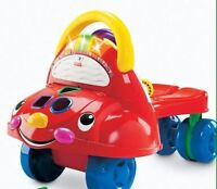 Fisher-Price Walk 'N' Drive Learning Car, Stage 1 & Stage 2