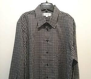 Mens Vizoni Uomo Dress Shirt (new), size XXL