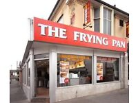 Part Time Staff requried to work in a Fish & Chip Shop