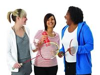 Beginners/Improvers Badminton at the White Horse Leisure and Tennis Centre in Abingdon