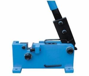 Cisaille (Shear) Industrielle pour tuyaux, barres, tiges d'acier.