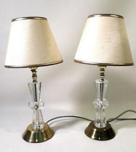 Perfect Vintage Crystal Table Lamp