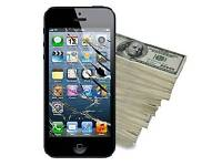 Cracked iPhones for CASH