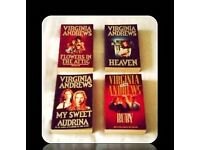 VIRGINIA ANDREWS BOOKS - (4) - PAPERBACK - FOR SALE
