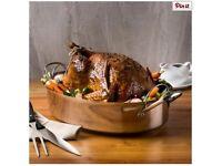 KSP Kuisine Hi-Dome Roaster with Rack (Stainless Steel) xmas turkey pot pan rack BRAND NEW!