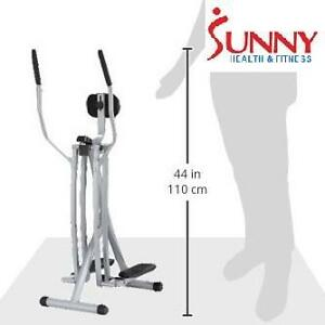 NEW* SUNNY AIR WALK TRAINER EXERCISE EQUIPMENT FITNESS ELLIPTICAL GLIDER GLIDERS MACHINE WORKOUT CARDIO 107055118