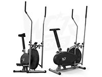 Cross trainer and exercise bike all in one, barely used