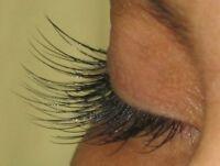 Flawless long lasting eyelash extensions
