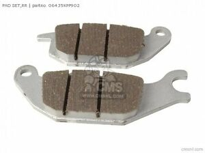 06435-KPP-902 - HONDA REAR BRAKE PADS