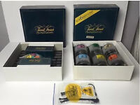Trivial pursuit board game and glasses set