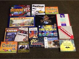 Job lot of vintage board games