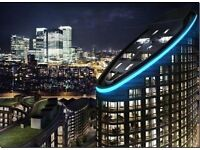 @ STUNNING AND LARGE STUDIO SUITE IN ONTARIO TOWER - WALK TO CANARY WHARF - GYM/POOL - MUST SEE!