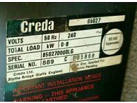 Creda 1kw electric storage heater