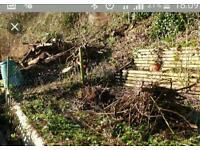 Garden rubbish house clearance