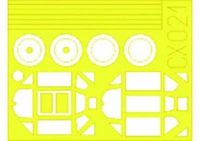 Eduard Accessories Cx021 - 1:72 Bf 109E - Maskierfolie - Neu