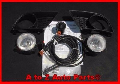 NEW 2011-2014 Dodge Charger, R/T Fog Lights / COMPLETE Fog Lamp Kit,OEM Mopar