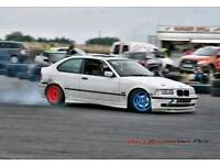 E36 compact drift car 2.8