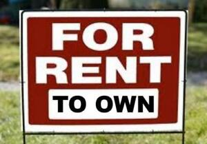 Stop Renting and Start Owning with Rent-to-Own!