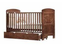 I Love My Bear Cot Bed