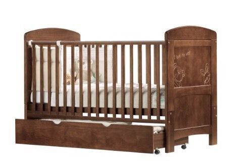 I Love My Bear Cot Bed Toddler Bed Later Storage