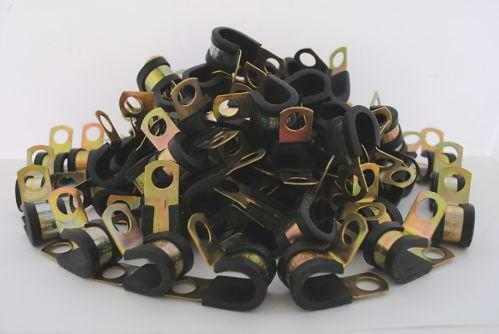 Rubber Insulated Clamps Ebay