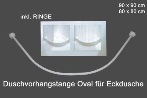 duschvorhangstange viertelkreis duschvorh nge ebay. Black Bedroom Furniture Sets. Home Design Ideas