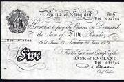 English White Banknotes