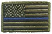 Police Velcro Patch