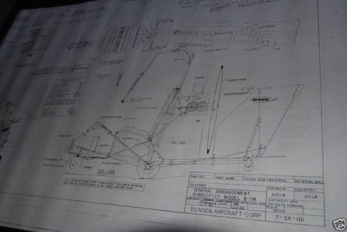 Bensen Gyrocopter: Aviation | eBay