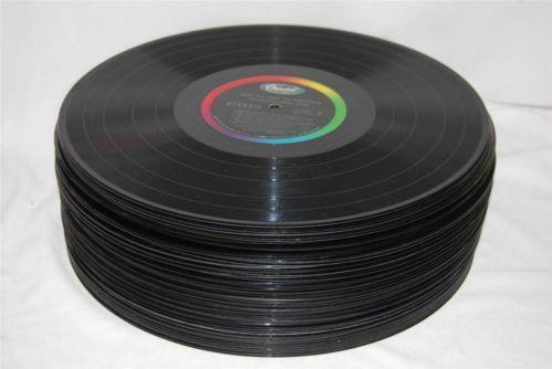 Vinyl record decorations ebay for Vinyl record decoration ideas