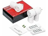 Etekcity Zap Remote Outlet Switches (3) With 2 Remotes