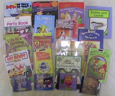Kid's Books and CD's