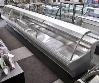 Eurocryor 6500 Wide Curved Glass Deli Display