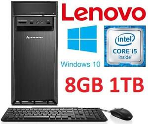NEW LENOVO IDEACENTRE DESKTOP PC - 134185088 - COMPUTER INTEL I5 6400 8GB MEMORY 1TB HDD WINDOWS 10