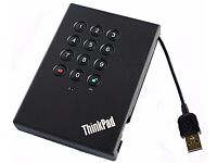 ThinkPad USB 3.0 Secure Hard Drive - 500GB
