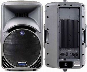 Mackie Powered Speakers (SRM450) and Yamaha Powered Sub (SW500)